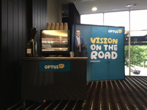 Optus Vision on the Road