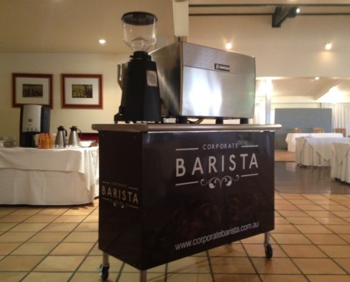 The Corporate Barista Cart